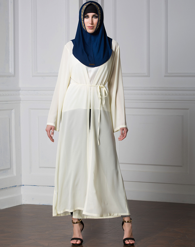 Popular Long Muslim Cardigan-Buy Cheap Long Muslim Cardigan lots ...