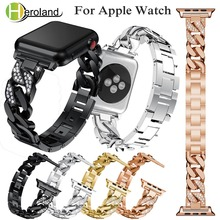 Bracelet Stainless Steel band For Apple Watch band series 1/2/3 /4 42mm 38mm 40mm 44mm strap for i watch band accessories gift hoco 2019 stainless steel strap for apple watch band 40mm 44mm metal links bracelet smart watch strap for i watch series 4 3 2 1