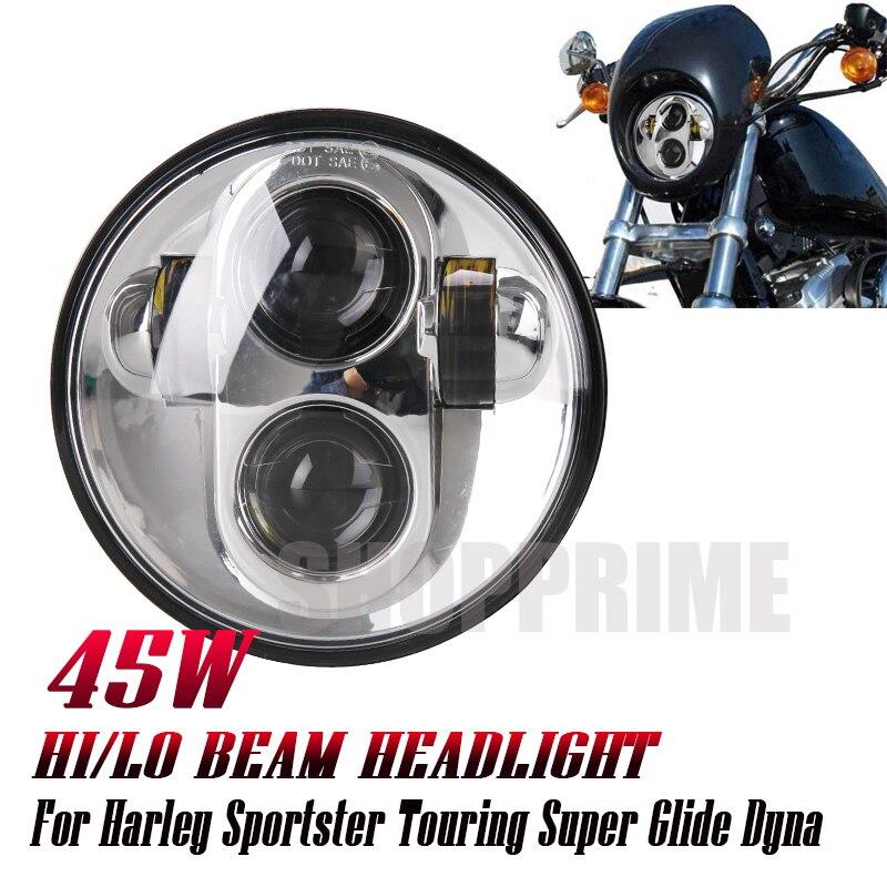 For Motor Street 750 Led Headlight 5 3/4