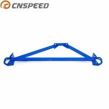 Синяя алюминиевая стойка для передней башни двигателя для Honda 92-00 Civic/Del Sol EG EK, для 94-01 Acura Integra Racing BRACE YC101025