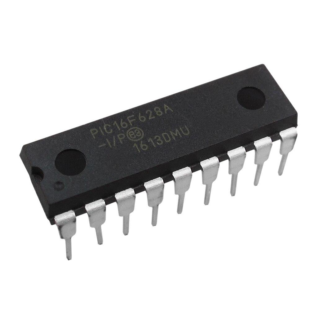 5pc  PIC16F628A-I P line DIP-18 microcontroller PIC16F628A