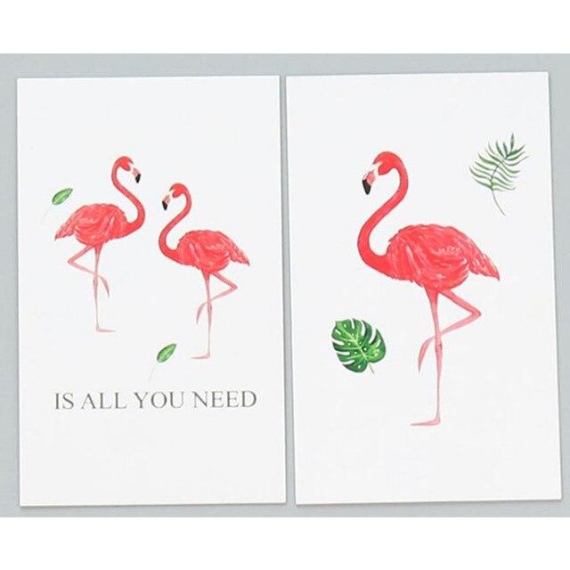 doreenbeads hei er flamingo karte bilateralen postkarte. Black Bedroom Furniture Sets. Home Design Ideas