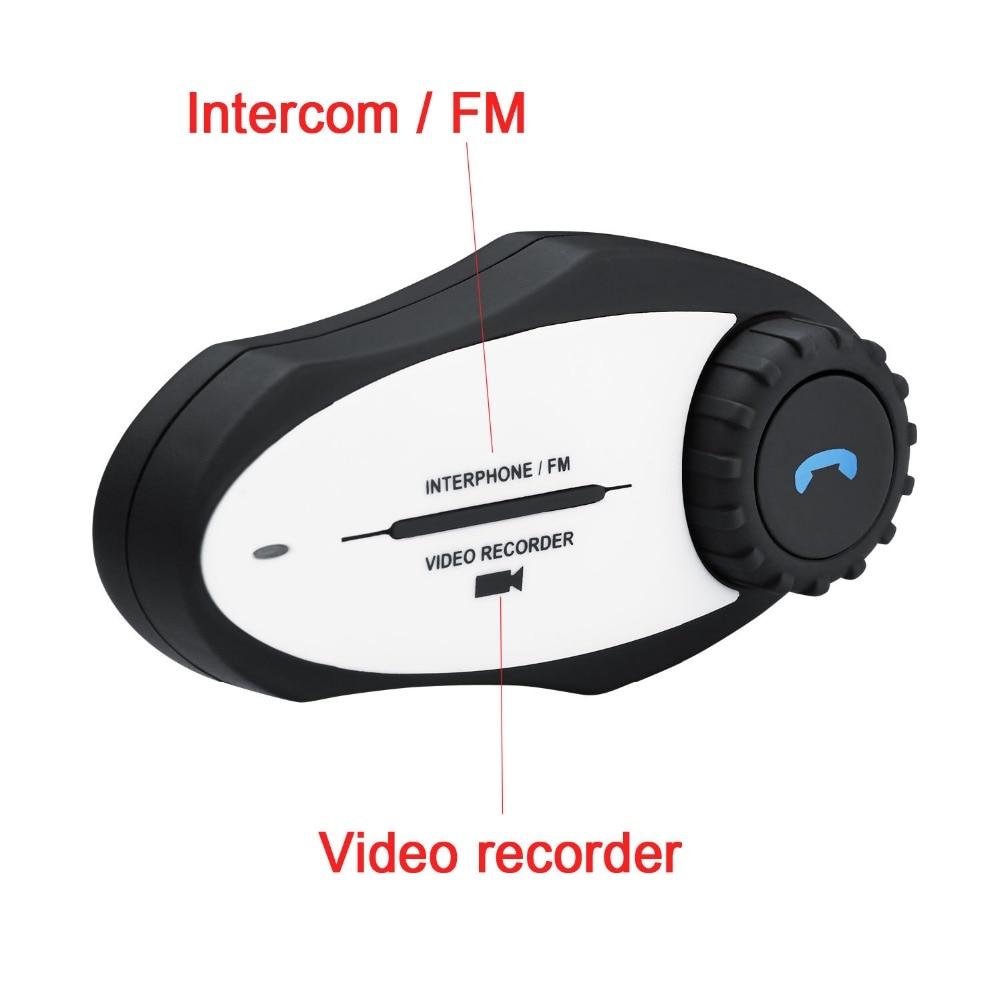 motorbike handsfree bt interphone mp3 fm radio 720p video recorder camera motorcycle helmet. Black Bedroom Furniture Sets. Home Design Ideas