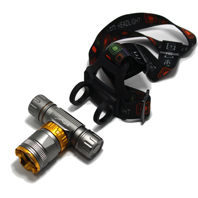 Underwater Diving Headlight 3800 Lumen -T6 Headlamp LED Waterproof Swimming Dive Head Light Torch Lamp Lighting Tactical Flash