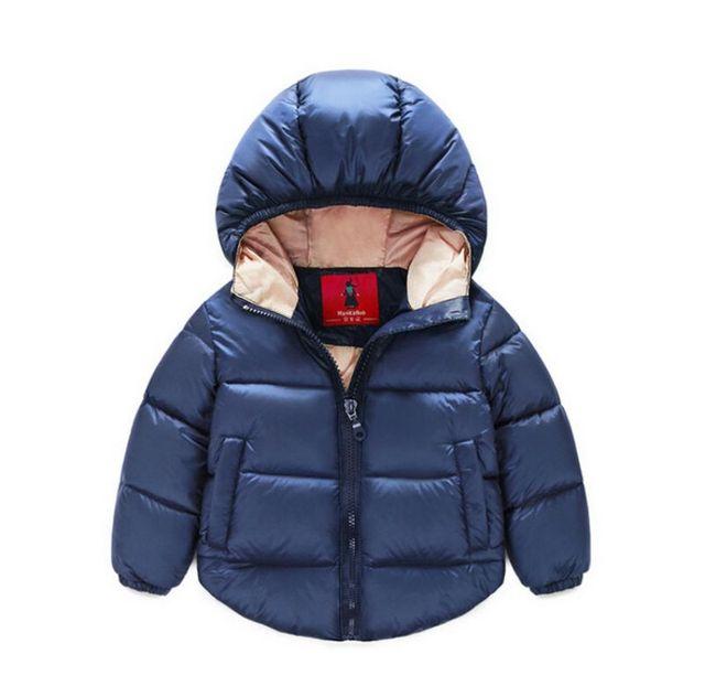 Зима Новорожденный Ребенок Snowsuit Дети Теплая Целом Хлопок Пальто и Куртки Верхняя Одежда Одежда