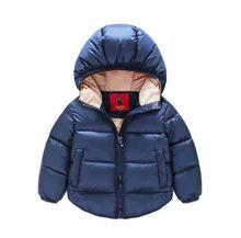 Hiver Nouveau-Né Bébé Habineige Enfants Chaud Globale Coton Manteaux et Vestes Survêtement Vêtements
