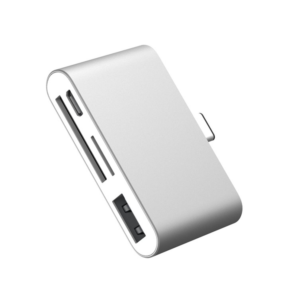 10PCS Type-C Smart Reader Small Size Multifunctional Aluminum Alloy Type-C Flash Drive TF Card Reader for Smartphones PC10PCS Type-C Smart Reader Small Size Multifunctional Aluminum Alloy Type-C Flash Drive TF Card Reader for Smartphones PC