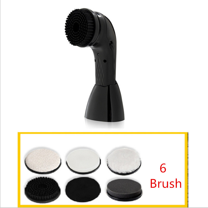 Automatic Shoe Polisher Brush Handheld Electric Shoe Shine Machine with USB Connector