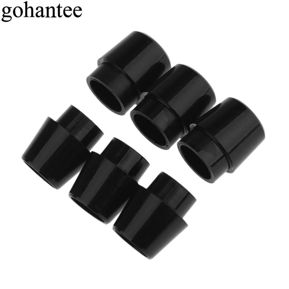 Black 5 Pcs Golf Ferrules Replacements For Callaway 815 RAZRX-hot2 Shaft Sleeve Adapter Tips Size 0.335 / 0.350 Golf Accessories