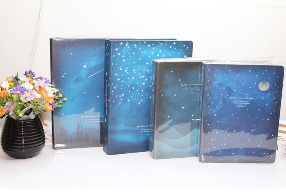 Office & School Supplies Galaxy Notebook Starry Sky 8mm Ruled Paper 46 Sheets A6 A5 Without Return