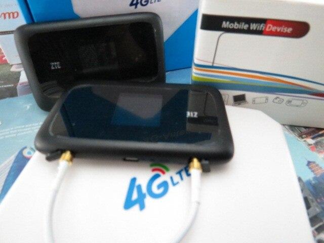 Zte MF910 4 г LTE мобильный wi-fi карманный беспроводной точки доступа модем-маршрутизатор открынный + 4 г 35DBI tsTS9 антенна