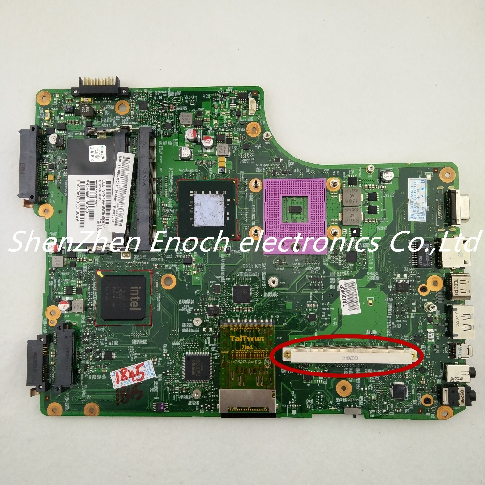 For Toshiba satellite  A505 with graphics slot laptop motherboard GM45 V000198020 6050A2251001-MB-A02stock No.999