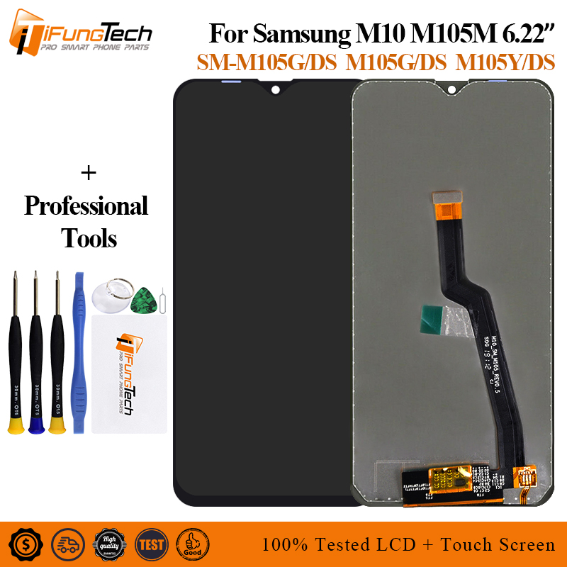 For <font><b>Samsung</b></font> Galaxy <font><b>M10</b></font> 2019 SM-M105 M105F M105G/DS <font><b>LCD</b></font> Display Touch Screen Digitizer Assembly Replace For <font><b>samsung</b></font> <font><b>M10</b></font> <font><b>lcd</b></font> image