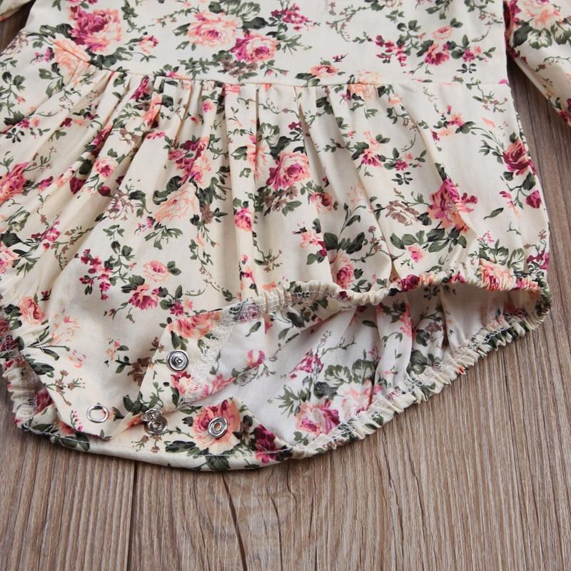 HTB15  jgfMTUeJjSZFKq6ygopXaV Newborn Toddler Baby Girls Ruffles Floral Romper Jumpsuit Outfits Clothes