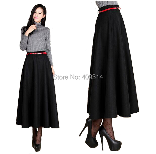 Aliexpress.com : Buy 6XL Plus Size Skirt 2016 Women Winter Saia ...