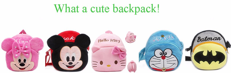 Baby Plush Backpack