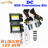 HID Conversion Kit 12V 35W H7 Lamp DC Slim Ballast Car Headlight Auto Bulb 4300K 6000K