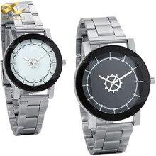 Lancardo Waterproof Women Fashion Watches Stainless Steel Couples Lovers Watch Ladies Pair Wristwatches Men Wrist Watches