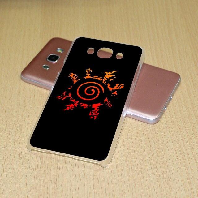 Naruto Itachi Sharingan Hard Clear phone Case for Samsung Galaxy