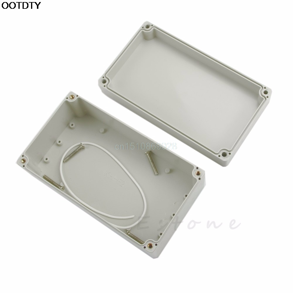 1pc Waterproof Plastic Electronic Project Box Enclosure Cover CASE 158x90x60mm