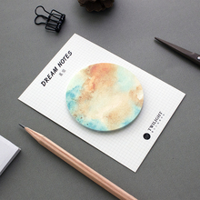 30 Pages Natural Dream Series Self-Adhesive Memo Pad Sticky Notes Post It Bookmark School Office Supply