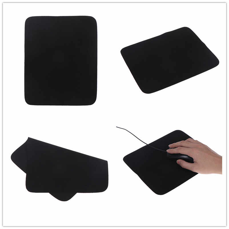 Black 24*20cm Gaming Mouse Pads Antislip Speed/Control Locking Edge Mouse Mat For pad mouse Rug For Laptop PC Computer Tablet
