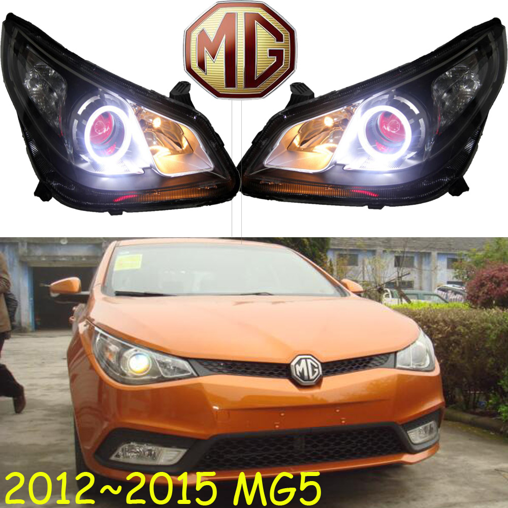купить MG5 headlight,2012~2015,LDH/RHD,Free ship! MG5 fog light,2ps/set+2pcs Aozoom Ballast;MG6,MG3,GS, MG 5 недорого