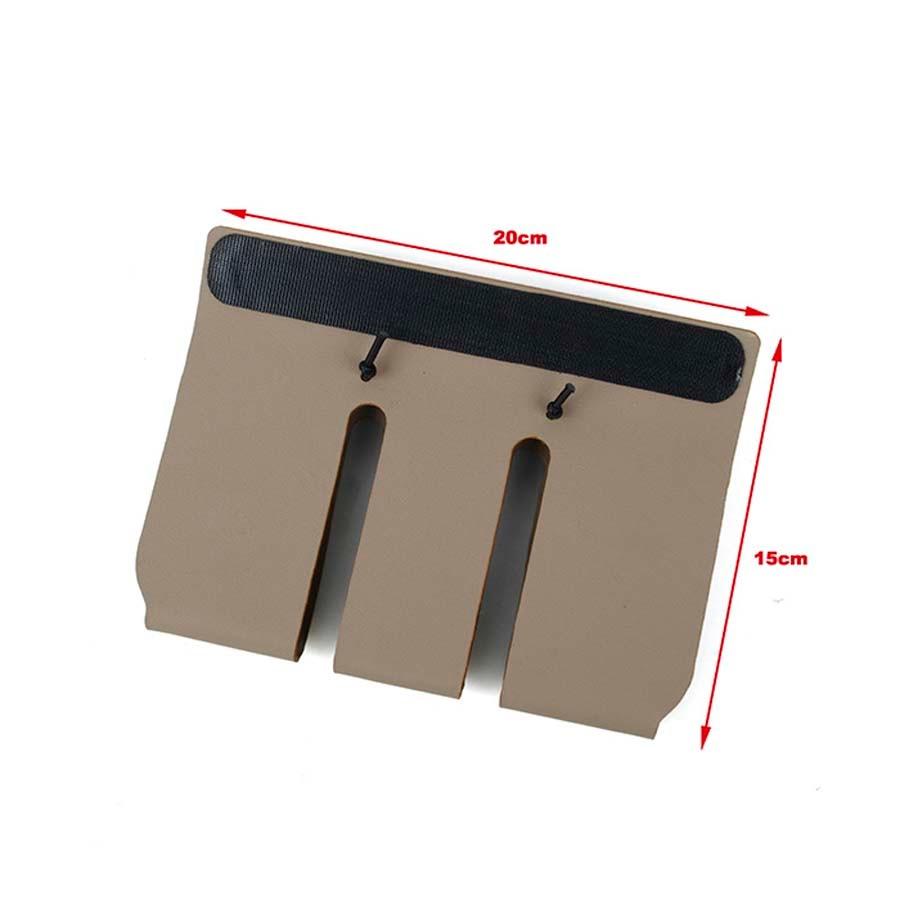 TMC3111-DE/BK Kydex 556 Mag pouch Insert Tactical Vest Front Panel Magazine Plate Carrier