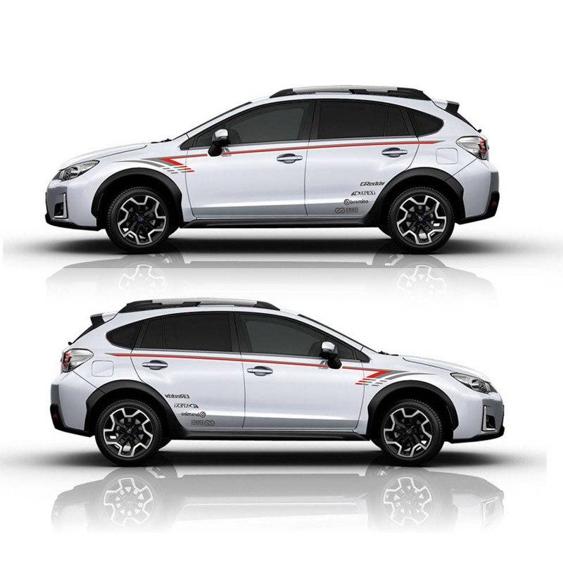 TAIYAO car styling sport autocollant de voiture Pour Subaru XV Vue 2.0I Mark Levinson voiture accessoires et stickers auto autocollant