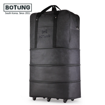 Large capacity Three Tier Expandable folding bag Oxford cloth Bag universal wheel Consignment by Air travel bags luggage bags 36 serok ikan
