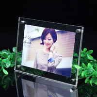 Free Shippinig 5 Pcs Lot Acrylic Clear 8 Inch 240x190mm Photo Frame European Creative Picture Frame
