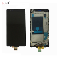 5 3 LCD Display Touch Screen Panel Digitizer Glass Assembly Frame Replacement For LG X Power