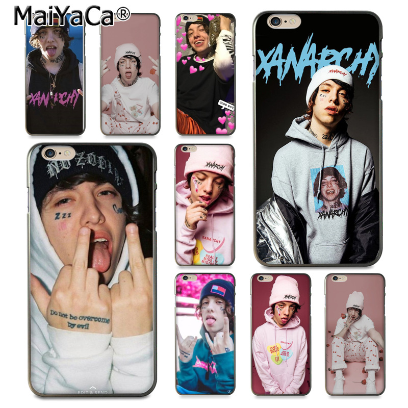 maiyaca for iphone 8 plus case luxury lil xan rapper multi colors maiyaca for iphone 8