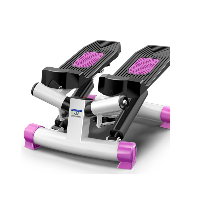 Multifunctional slim waist fitness equipment foot machine Household mute weight loss machine Steppers machine ld 988 ultra quiet fitness car home bicycles indoor sports to lose weight fitness equipment load 70kg indoor cycling bikes