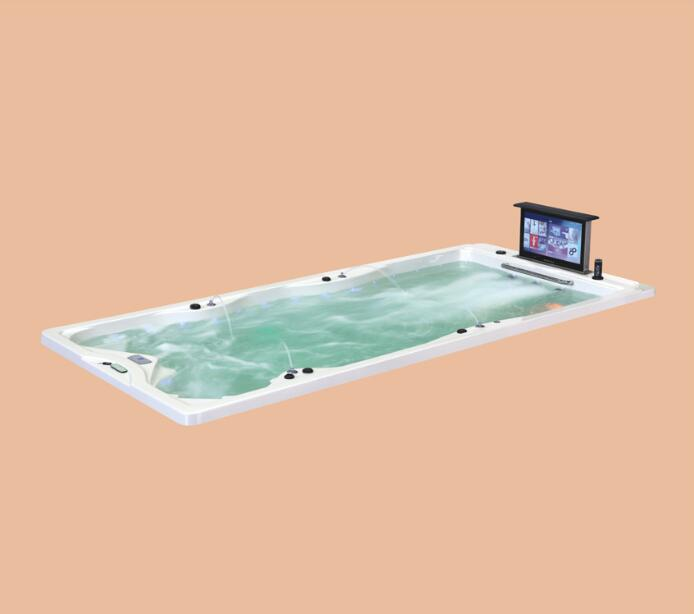 4800mm Swimming Pool Drop in whirlpool Bathtub Acrylic Hydromassage Embedded Surfing SPA NS2011