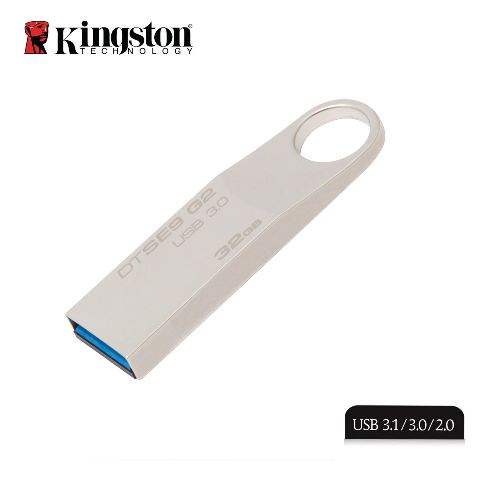 Kingston Usb 3.0 Flash Drive Metal Pen Drive 16gb 32 Gb 64 Gb 128gb Pendrive Flash Memoria Mini Key Caneta Memory Stick