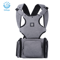 Unihope Ergonomic Baby Carrier Kangaroo Infant Baby Hip Seat Sling Front Facing Baby Wrap Carrier For
