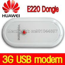 UNLOCKED HUAWEI E220 3G HSDPA USB MODEM 7.2 Mbps Google Android Tablet PC için E220 USB DONGLE MOBIL GENIŞBANT ücretsiz Kargo(China)