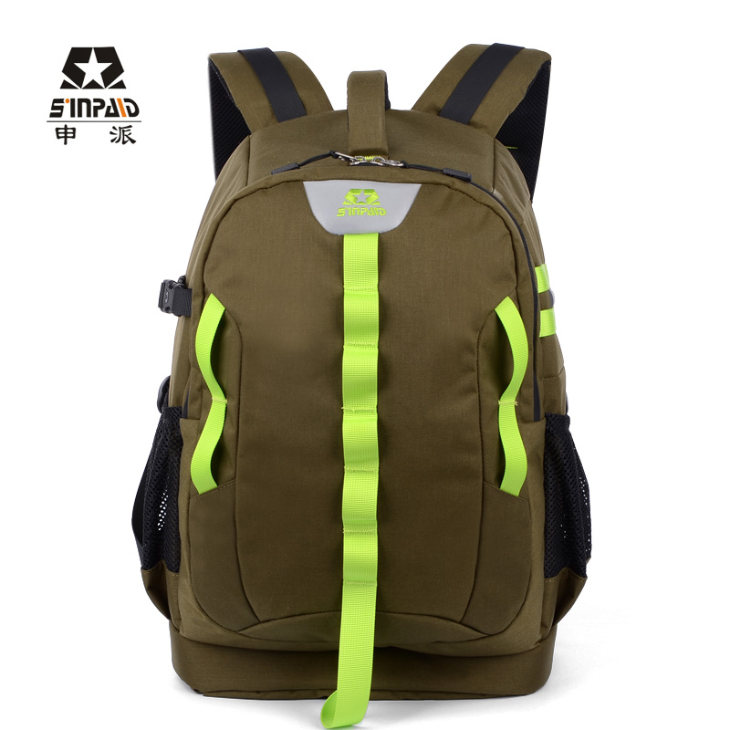 Security SLR Bag Camera Bag Backpack Waterproof Travel Shoulder Bag Army  Green Camcorder DV Case For Canon f74e0a6c9b850