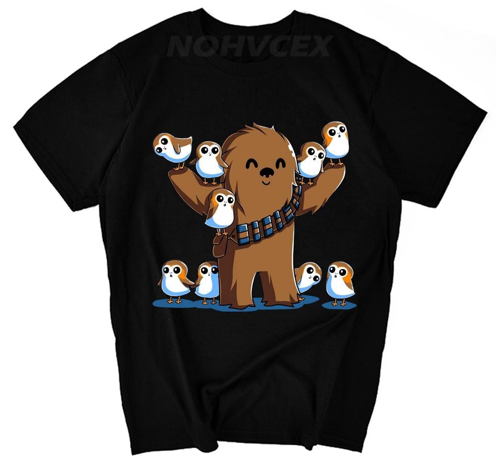 Chewie And Porgs Star Wars Porg Shirt