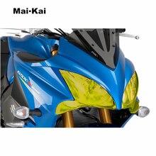 MAIKAI FOR SUZUKI GSX-S1000F GSX S1000F 2015-2018 Motorcycle Headlight Protector Cover Shield Screen Lens