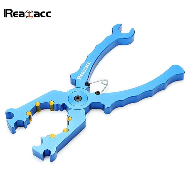 Original Realacc aleación alicates V2 llave multifuncional pinza para vivienda Outrunner bricolaje herramientas Grip para modelos RC Motor