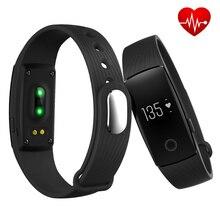 Спортивные умный Браслет Bluetooth 4.0 монитор сердечного ритма активно фитнес-трекер Браслет для Android IOS телефонный звонок