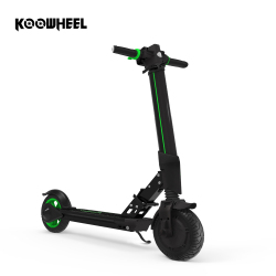Koowheel E1 Adult Electric Kick e Scooter Foldable Longboard Kick e-Scooter 6000mAh Lithium Battery Electric Skateboard with APP