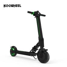 2019 Koowheel E1 Электрический Скутер Складной Longboard Kick Scooter 6Ah литиевая батарея электрический Ховерборд скейтборд с приложением