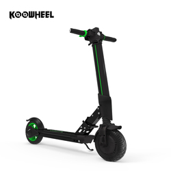 2019 Koowheel E1 Electric Scooter Foldable Longboard Kick Scooter 6Ah Lithium Battery Electric Hoverboard Skateboard with APP
