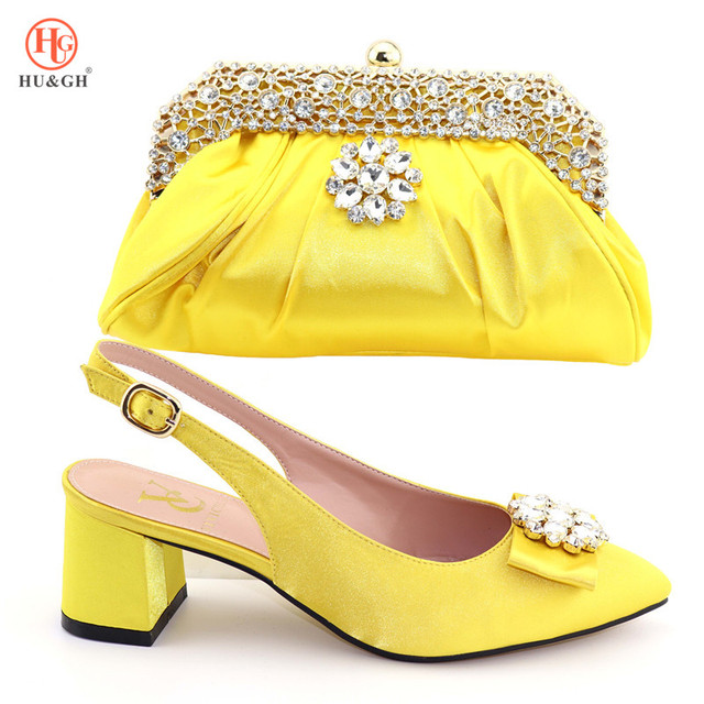 Fuchsia Color Pumps Shoes and Bag To Match Italian Sandals Matching Italian Shoe and Bag Set Nigerian Shoes with Matching Bag