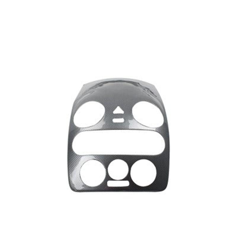 1 pc voiture autocollants en fibre de carbone ABS matériel console centrale panneau décoration couverture pour 2003-2012 Volkswagen VW Beetle