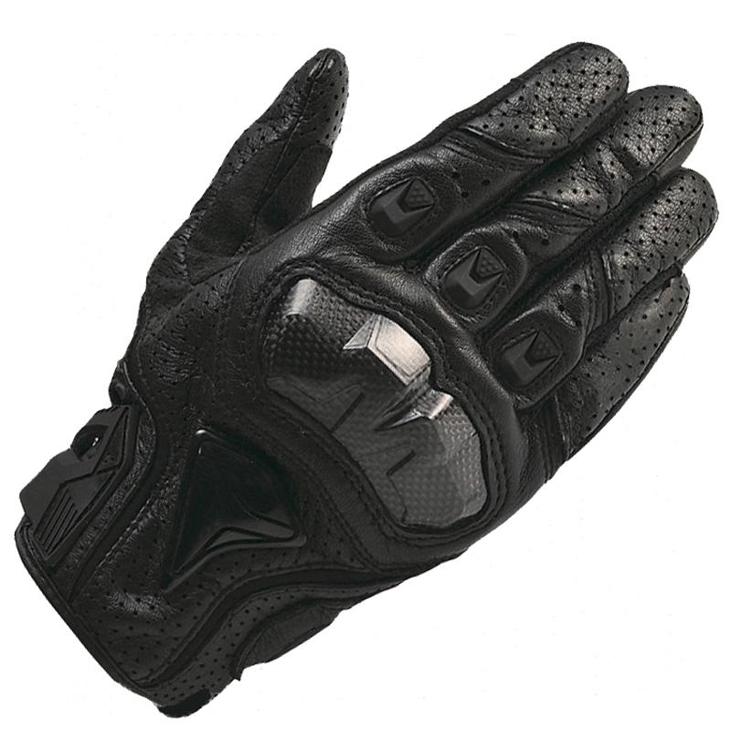 Prix pour Gpcross moto gants réel véritable gant de cuir moto en fiber de carbone hommes racing motocicleta guantes moto guantes luvas