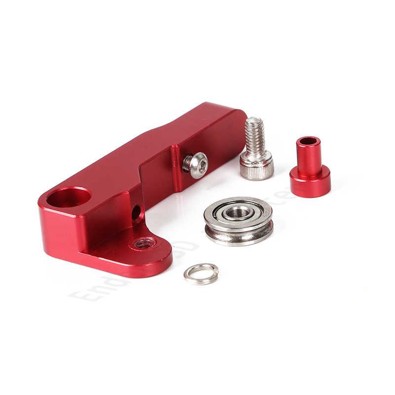 2019 Nieuwste 3D printer deel Extruder Aluminium Blok DIY kit Extruder 1.75mm Filament voor Ender-3/Ender-pro /Ender-5 CR-10 (1 set)